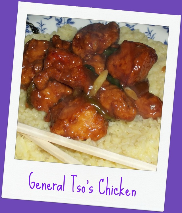 Coulda, Woulda, Shoulda been....General Tso's Chicken