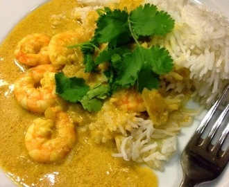 Hairy Dieters Creamy Prawn Korma