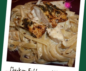 A classic...Fettuccine Alfredo with Chicken