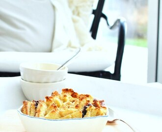 Nutella Bread and Butter Pudding