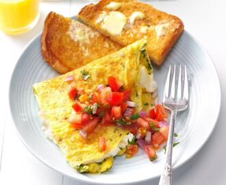 Cream Cheese & Chive Omelet Recipe