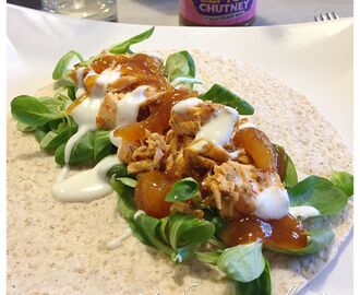 Indiska Pulled Salmon Wraps