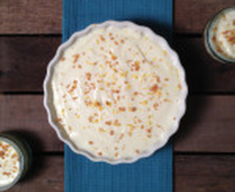 Laura's Mum's No Bake Lemon Cheesecake