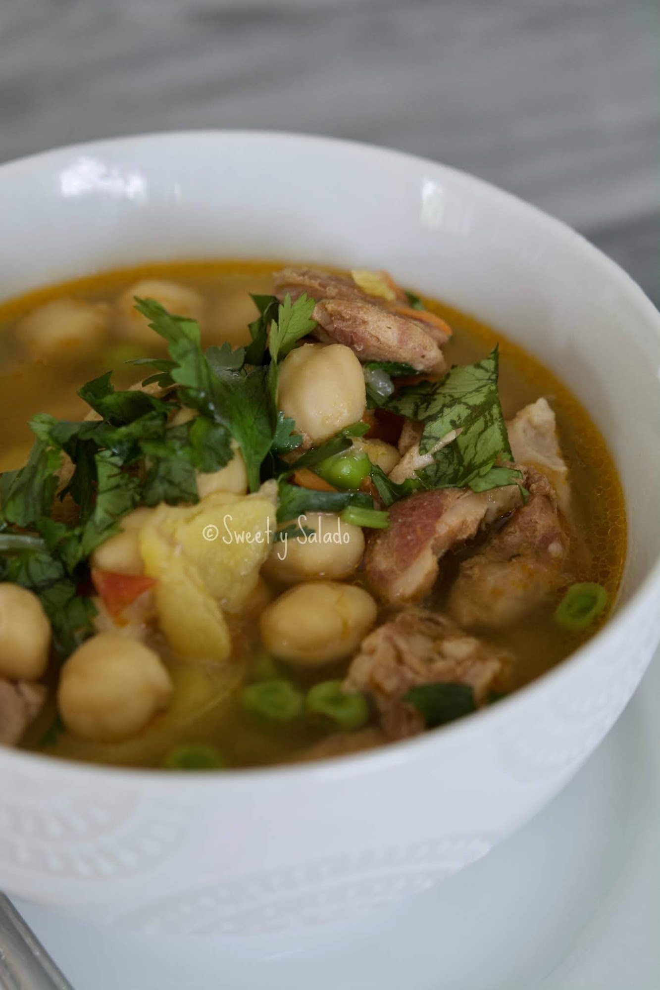Sopa de Garbanzos