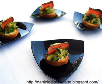 Finger food con zucchine e brusaula.