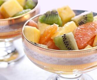 Zesty Lime and Ginger Winter Fruit Salad Recipe