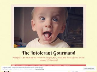 The Intolerant Gourmand