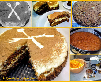 TORTA  SA  SARGAREPOM  I  ANANASOM &  CARROT  AND  PINEAPPLE  CAKE