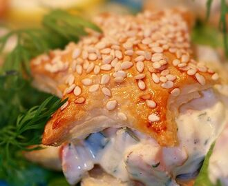 laxröra_smördeg_bakelse_munsbit | Mat o Bak! | Pinterest | Recipes, Food and Appetizers