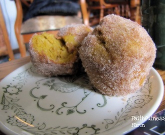 Pumpkin Doughnut Muffins get a Low-Carb Re-Mix