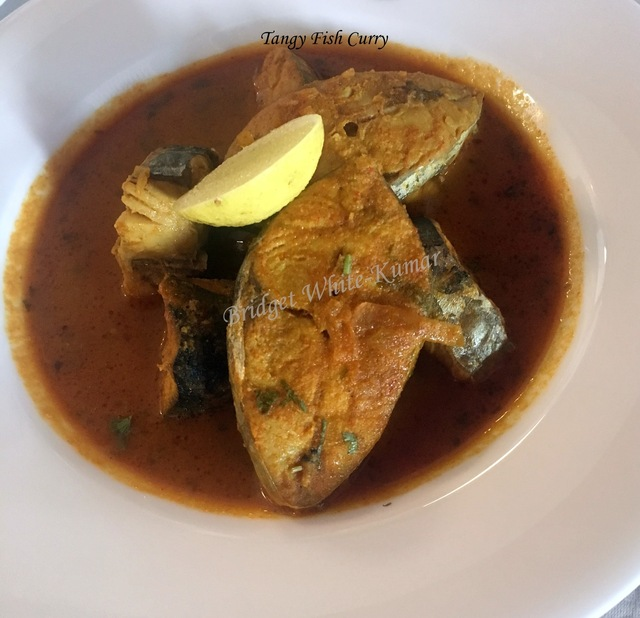 ANGLO-INDIAN TANGY FISH CURRY (Fish cooked in Tamarind Sauce)