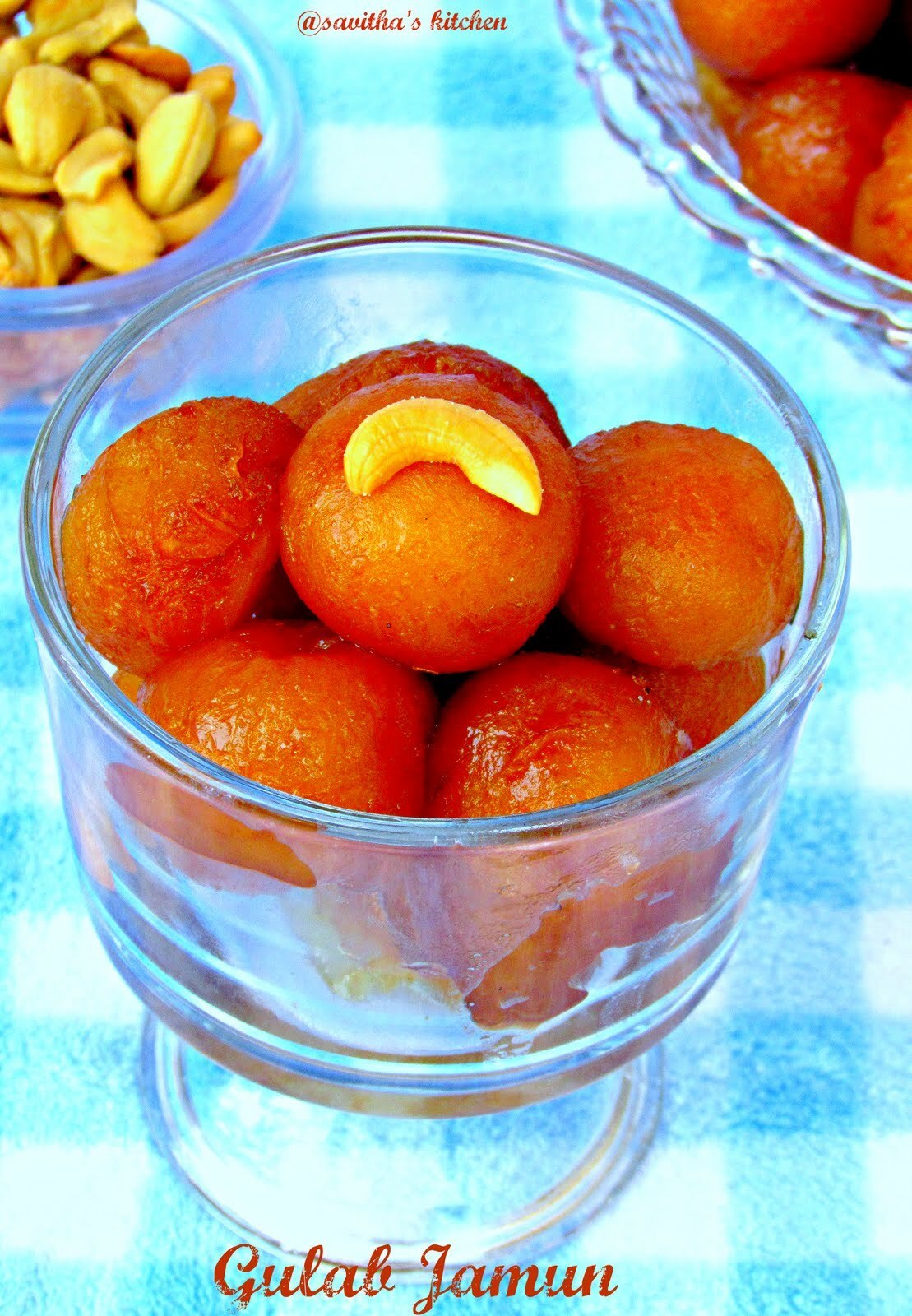 Gulab Jamun made with ready made mix / Blogging Marathon #25