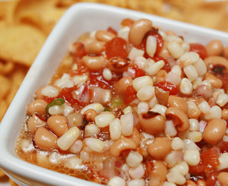 Goodbye 2012 and  (Black Eyed Pea Salsa