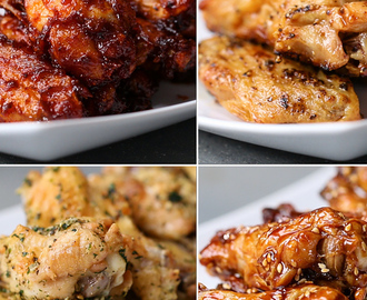 Bring The Takeout Home With These Four Easy Ways To Make Baked Chicken Wings