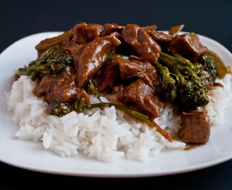 Crockpot Beef and Broccoli (It's gluten free!)