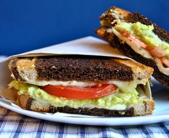 Guacamole Crunch Grilled Cheese