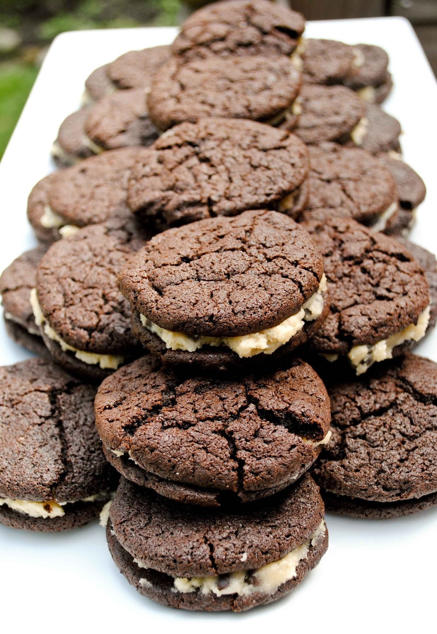 Brownie Cookie Dough Whoopie Pies