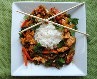 Thai Chicken and Veggie Stir Fry