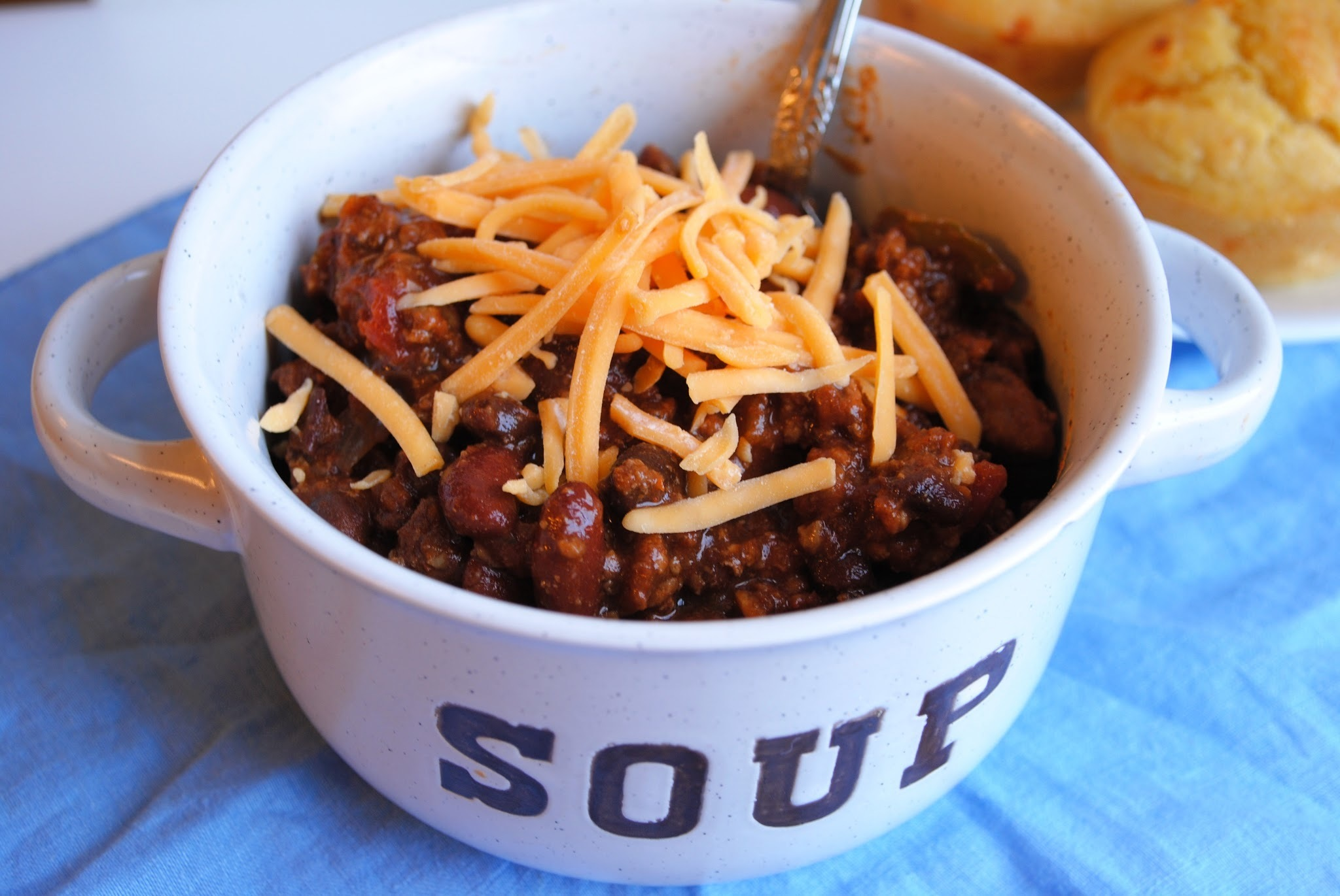 Hearty Beef and Steak Crock Pot Chili