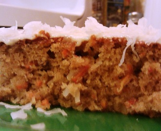 Gluten Free Carrot Cake with Cream Cheese Frosting