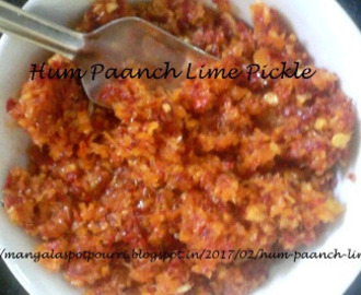 Hum Paanch Lime Pickle