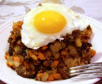 ...Holiday Leftovers Hash