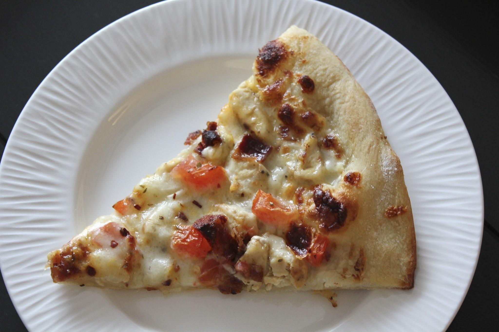 Chicken Bacon Alfredo-Ranch Pizza and the BEST DOUGH EVER