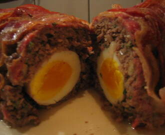 Scottish meatloaf (gehaktbrood met verscholen eieren) **