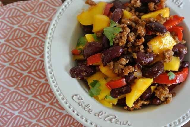 SKINNY & DELICIOUS: Chili & mango