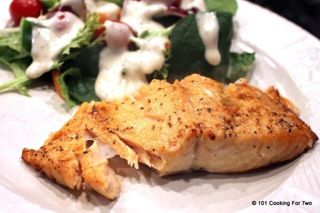 Baked Butter Lemon Salmon