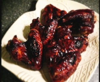 Foodblogevent: Chicken wings met gecarameliseerde balsamico marinade