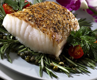 Chilean Sea Bass with Citrus Relish