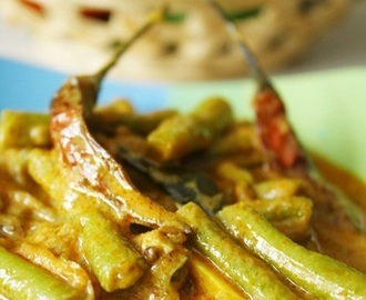 Sri Lankan Long Beans Curry / Ma Karal curry