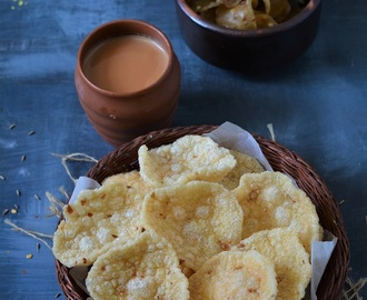 How To Make Sooji Papad, Easy Sooji Papad Recipe