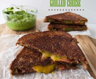 Arugula Pesto & Bacon Grilled Cheese
