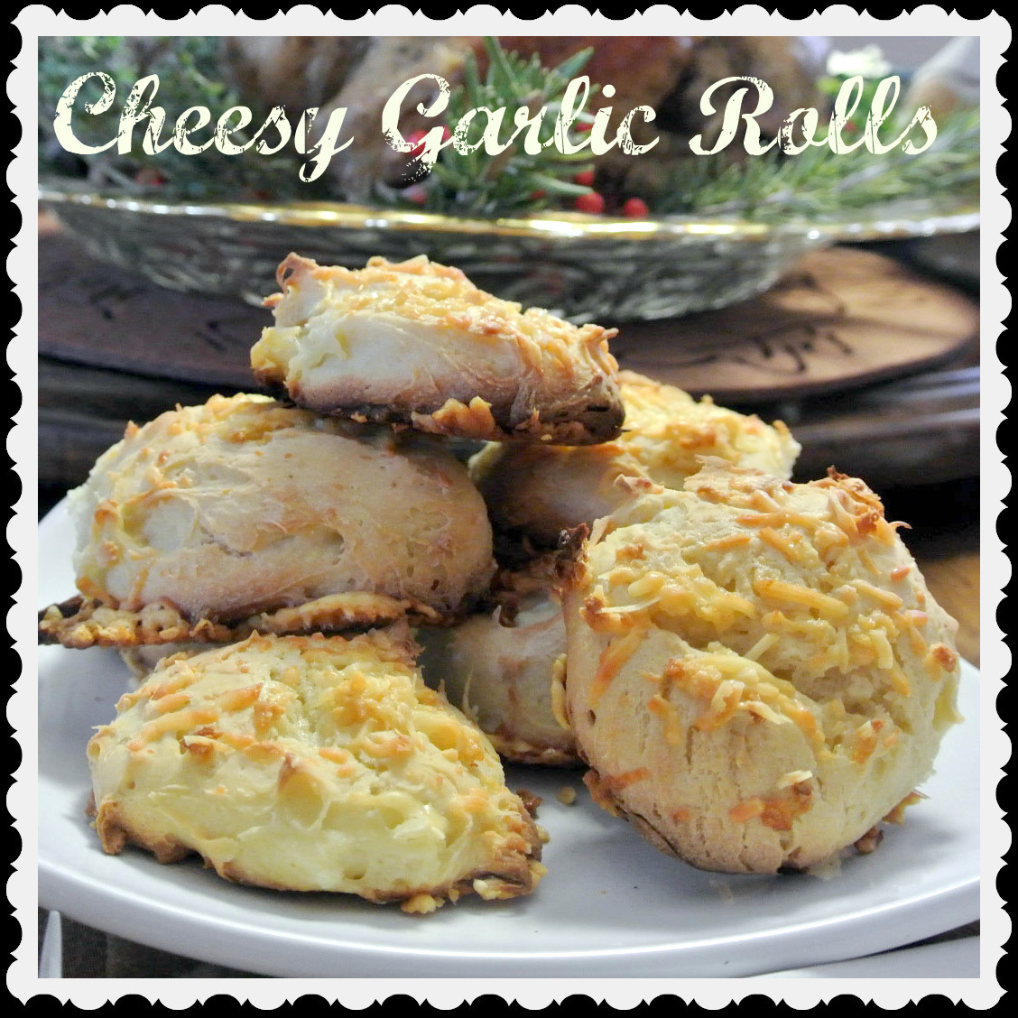 Gluten-Free Cheesy Garlic Rolls