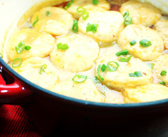 Creole Roasted Chicken and Dumplings