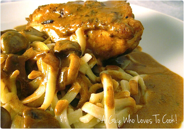 Braised Chicken Paprikash