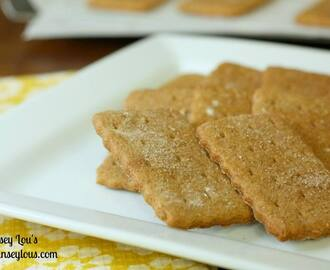 DB: Homemade Graham Crackers