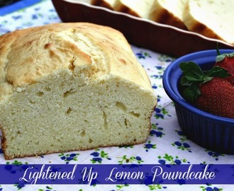 Lightened Up - Lemon Pound Cake