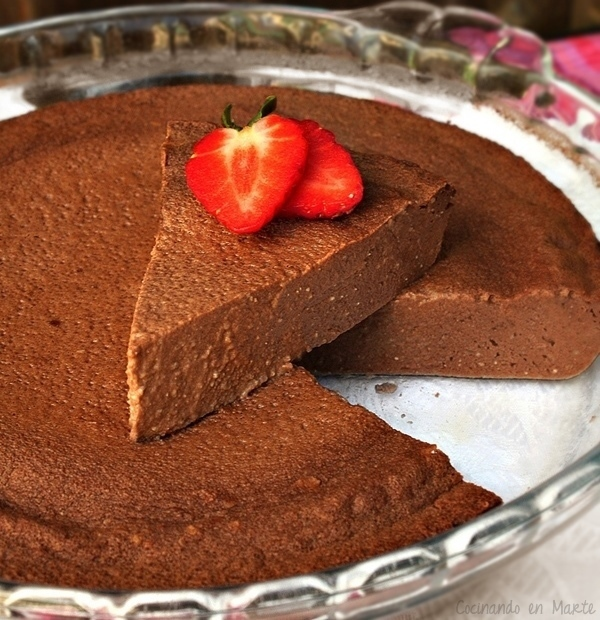 TARTA DE CHOCOLATE LIGERA