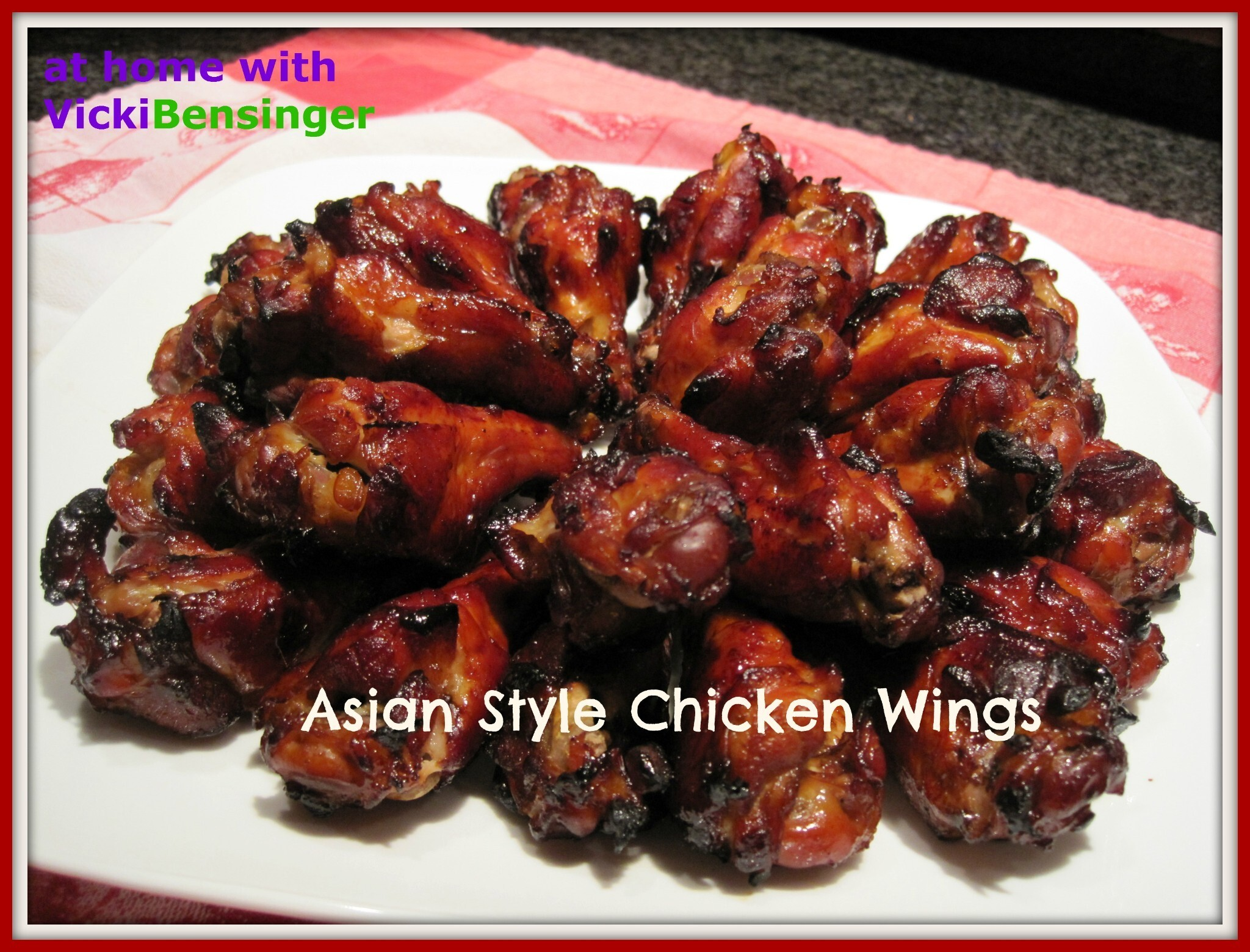 Super Bowl Asian Style Chicken Wings!