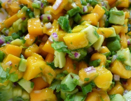Manila Mangos Are Here! These Sweet And Delicious Fruits Are Great In Raw Salsa And Chia Pudding- Two Easy Vegan Recipes!
