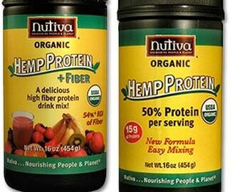 Raw Nutiva Protein Powder - Great For Smoothies!