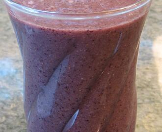 Blueberry Smoothie—A Healthy Morning Ritual