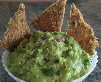 Guacamole And Raw Jalapeno Corn Chips—Using A Dehydrator In Raw Food Preparation