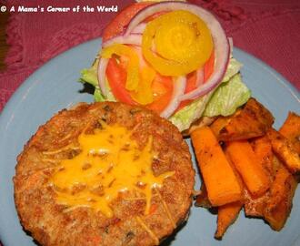 Meatless Monday Recipe Idea: Garden Veggie Burgers with Italian Mayo