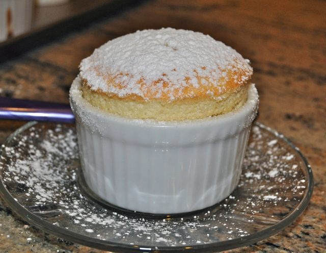 Lemon Souffles from Southern Living