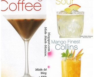 Drinki na Sylwestra, drinki na imprezę (Thai Coco Sour, Mango Finest Collins, Jim Morning Coffee) - cz.3