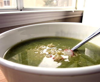 Broccoli Soup + a detox